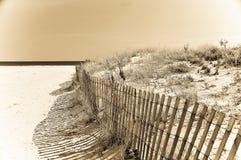 Cerca de la tormenta de la playa Fotografía de archivo