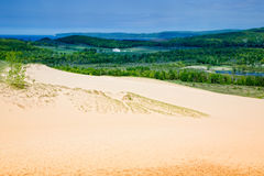 Dunas de Michigan imagem de stock royalty free