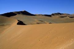 Dunas de Namib Imagem de Stock