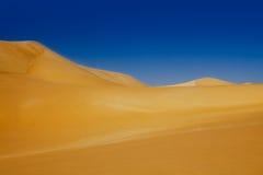 Dunas de Sahara do deserto, Egipto Imagem de Stock Royalty Free