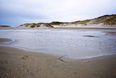 Dunas de Texel foto de archivo libre de regalías