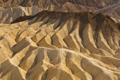 Dunas Death Valley da argila Imagem de Stock