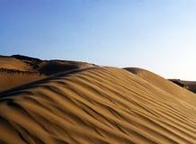 Dunas del desierto Foto de archivo libre de regalías