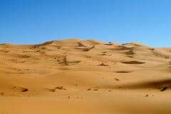 Dunas del desierto de la arena de África Imagen de archivo libre de regalías