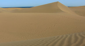 Dunas do deserto Foto de Stock Royalty Free