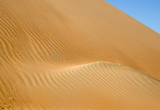 Dunas do deserto de Liwa Foto de Stock Royalty Free