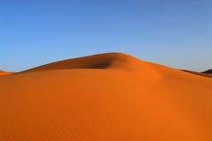 Dunas do deserto de Sahara imagem de stock