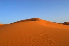 Dunas do deserto de Sahara imagens de stock