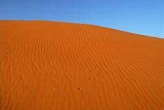 Dunas do deserto de Sahara foto de stock royalty free