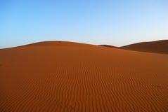 Dunas do deserto de Sahara fotografia de stock royalty free