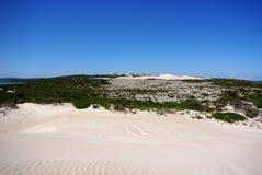 Dunas do rolamento & Sandy Tracks, península de Eire foto de stock