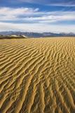 Dunas do Vale da Morte Foto de Stock