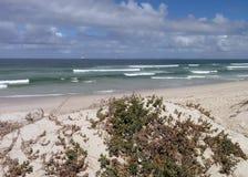 Dunas e mar de areia Fotografia de Stock Royalty Free