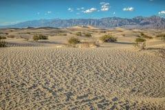 Dunas en Death Valley Fotos de archivo libres de regalías