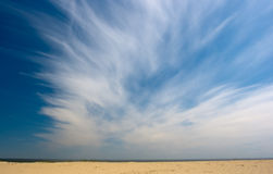 Dunas en el verano Imágenes de archivo libres de regalías
