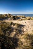 Dunas en la costa Fotos de archivo libres de regalías