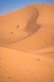 Dunas, Marruecos, Sahara Desert Imágenes de archivo libres de regalías