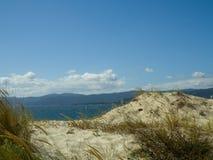 Dunas na praia Fotografia de Stock
