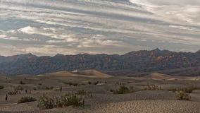 Dunas, o Vale da Morte, Califórnia fotos de stock royalty free