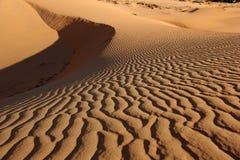 Dunas vermelhas Deserto de Vietname Fotos de Stock Royalty Free