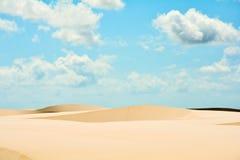 Dunas y dunas Foto de archivo