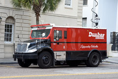 Dunbar Armored truck Royalty Free Stock Photo