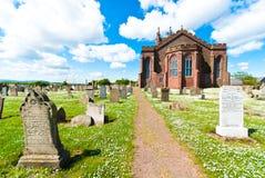 Dunbar college- kyrka Arkivfoto
