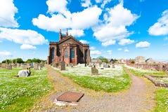 Dunbar college- kyrka Arkivbilder