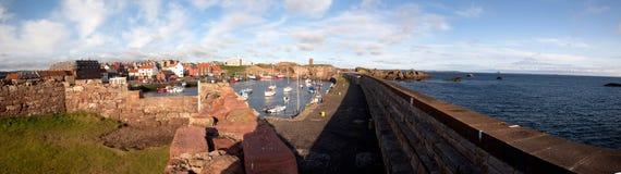 Dunbar harbour Stock Image