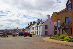 Dunbar Oceanfront in Scotland Royalty Free Stock Photo
