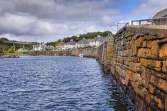 Dunbeath,苏格兰港口  免版税图库摄影