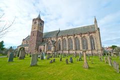Dunblane Cathedral. An view of the historic cathedral at Dunblane, Scotland Royalty Free Stock Image