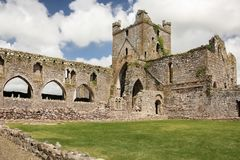 Dunbrody Abbey. county Wexford. Ireland. Stock Images