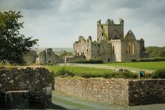 dunbrody abbey ståndsmässiga Wexford ireland Royaltyfri Fotografi