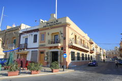 Duncan Bar and restaurant. The Duncan Bar, Restaurant and Guest House in the town of Marsaxlokk in Malta Stock Photography