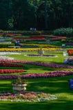 Duncan Gardens au parc de Manito, Spokane, WA Images stock