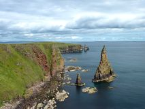 Duncansby Head. North Coast of Scotland, called Duncansby Head, famous for its scenery and bird colony stock image