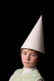 Dunce cap Stock Photography