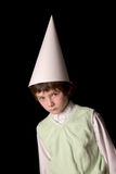 Dunce cap Royalty Free Stock Images