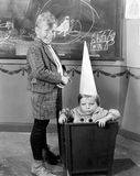 DUNCE CAP Stock Images