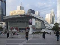 Dundas kwadrat - Toronto, Kanada zdjęcia stock