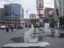 Dundas Square - Toronto, Canada Royalty Free Stock Photo