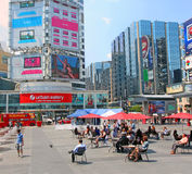 Dundas Square Stock Photography