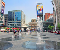 Dundas Square Royalty Free Stock Image