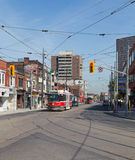 Dundas Street West and Roncesvalles Royalty Free Stock Image