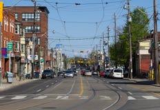 Dundas Street West Toronto Stock Images