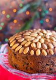 Dundee cake Royalty Free Stock Images