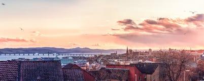 Dundee en stad av Skottland royaltyfri bild