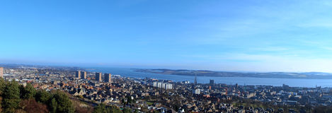 Dundee view stock photography