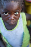 DUNDO/ANGOLA - 23 aprile 2015 - ritratto dell'Africano rurale felice c Fotografia Stock